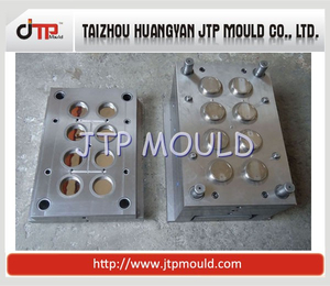 8 Cavities Plastic Small Medical Container Lid Mould
