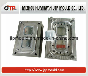2 Cavities hot runner Plastic injection Food Container mould
