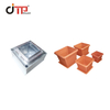 HDPE Material High Glossy Square Plastic Injection Flower Pot Mould