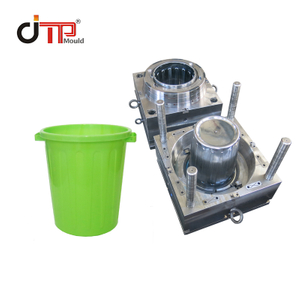 Customized High Quality 25L Plastic Injection Storage Bucket Mould