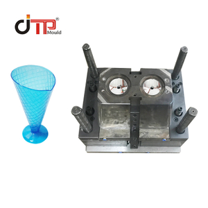 PS Material Cold Runner Hot Runner Plastic Injection Ice Cream Juice Cup Mould