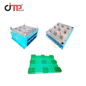 3 Runners Flat Stackable Plastic Pallet Mould