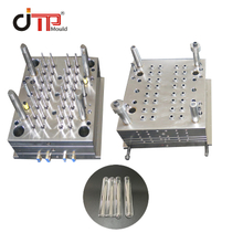 32 Cavities 12*100 Disposable Plastic Injection Medical Test Tube Mould