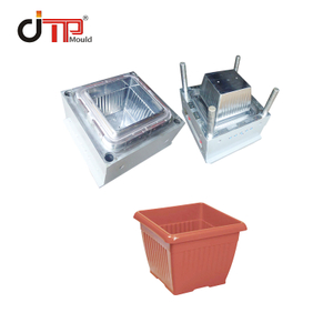 High Quality Good Design Square Plastic Flower Pot Mould