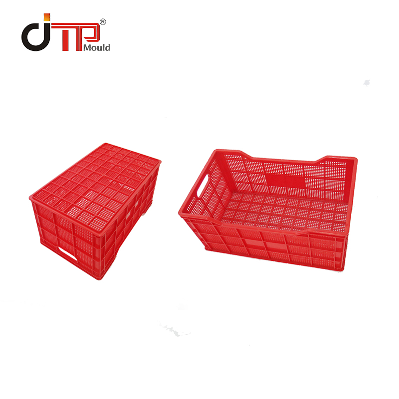 Supermarket, Buy Vegetables, Environmental Protection Plastic Shopping Basket Mold