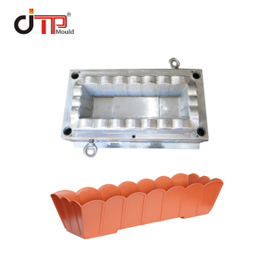 Customized Square Shape Plastic Flower Pot Making Mould