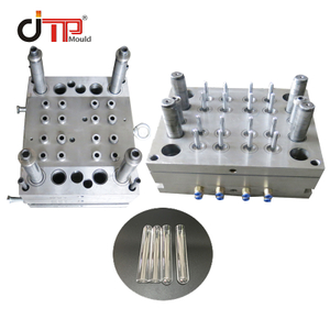 16 Cavities 12*75 Disposable Plastic Injection Medical Test Tube Mould
