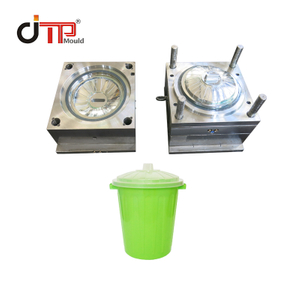 PP Material P20 Mould Steel New Design Plastic Injection Basket Cover Mould